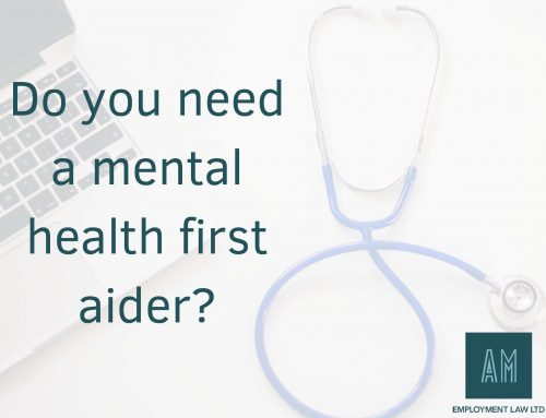 Do you need a mental health first aider?